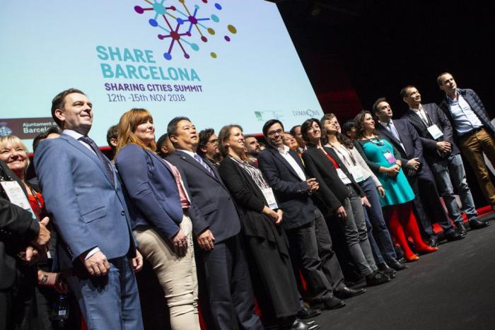 Declaration at Smart City Expo World Congress