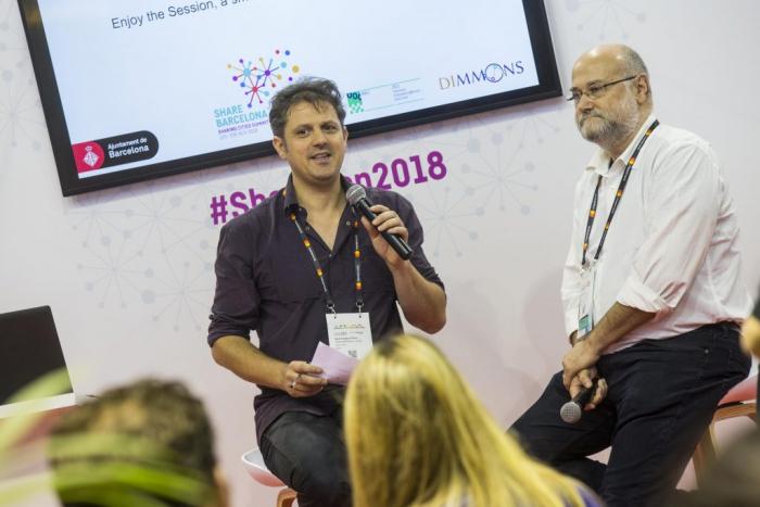 Yochai Benkler at the Agora of Sharing Cities Summit 2018