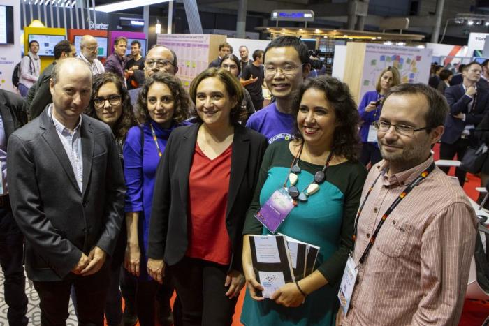 Ada Colau in Sharing Cities Summit
