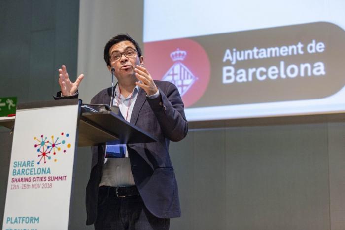 Gerardo Pisarello at Sharing Cities Summit 2018