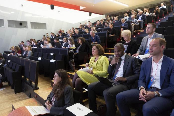 City representatives in Sharing Cities Summit 2018